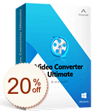 Aimersoft Video Converter Ultimate割引クーポンコード