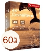 Aiseesoft 4K 変換 Discount Coupon