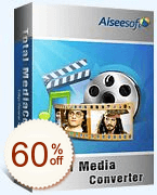 Aiseesoft Total Media Converter Discount Coupon