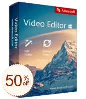 Aiseesoft Video Editor Discount Coupon