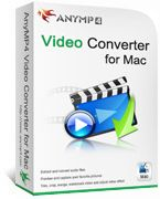 AnyMP4 Video Converter for Mac Discount Coupon