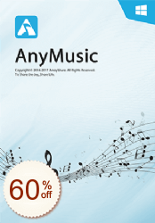 AnyMusic Discount Coupon