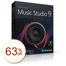 Ashampoo Music Studio Discount Coupon