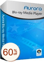 Aurora Blu-ray Media Player Discount Coupon