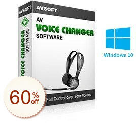 AV Voice Changer Software Discount Coupon