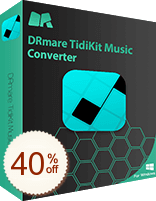DRmare TidiKit Music Converter Discount Coupon