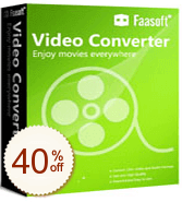 Faasoft Video Converter 割引情報