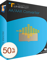 TunesKit Audible AA/AAX Converter Discount Coupon