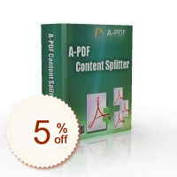 A-PDF Content Splitter Discount Coupon