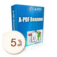 A-PDF Rename Discount Coupon