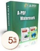 A-PDF Watermark Discount Coupon