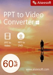 Aiseesoft PPT to Video Converter OFF