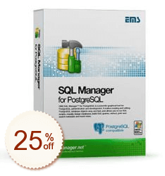 EMS SQL Manager for PostgreSQL Discount Deal