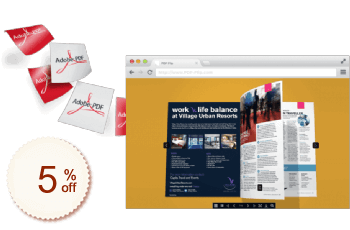 PDF Flip Book Discount Coupon