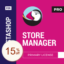 Store Manager for PrestaShop Discount Coupon
