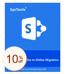 SysTools SharePoint Migrator Discount Coupon