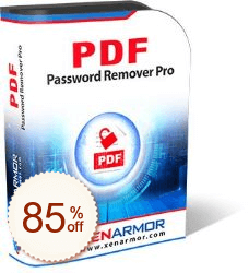 XenArmor PDF Password Remover Pro Discount Coupon