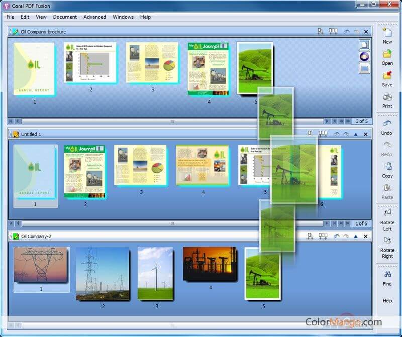 Corel PDF Fusion Screenshot