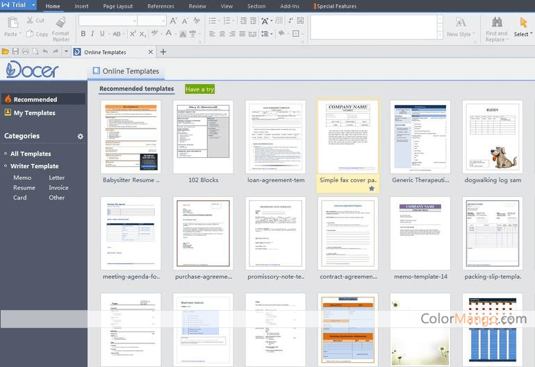 WPS Office Screenshot