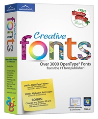 Broderbund Creative Fonts Up to 50% OFF Sale and Clearance Items