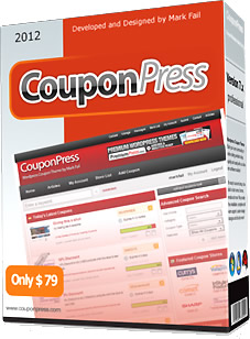 PremiumPress Coupon Theme 75%割引!