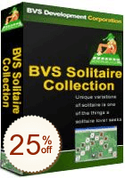 BVS Solitaire Collection Discount Coupon