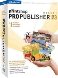 The Print Shop Pro Publisher Deluxe Shopping & Trial