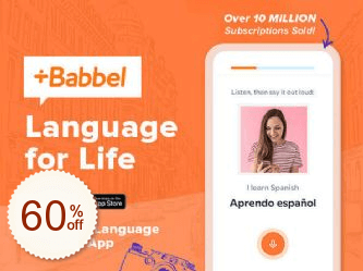Babbel Language Learning Discount Coupon