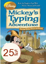 Disney: Mickey's Typing Adventure Discount Coupon