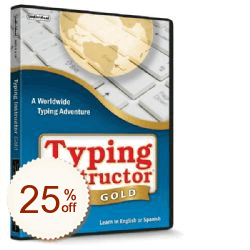 Typing Instructor Gold Discount Coupon
