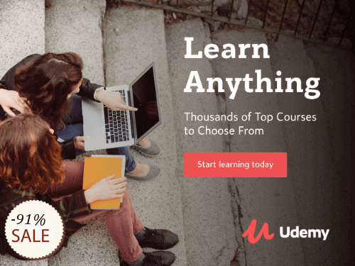 Udemy Online Courses Discount Coupon