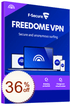 F-Secure Freedome VPN OFF
