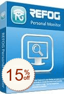 REFOG Personal Monitor Discount Coupon