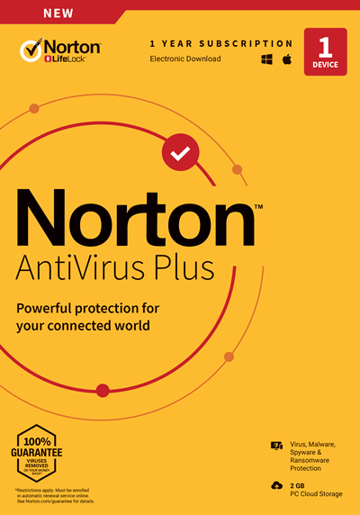 Norton AntiVirus Plus OFF