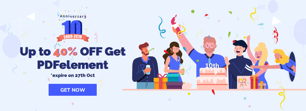 Save 40% PDFelement 7!