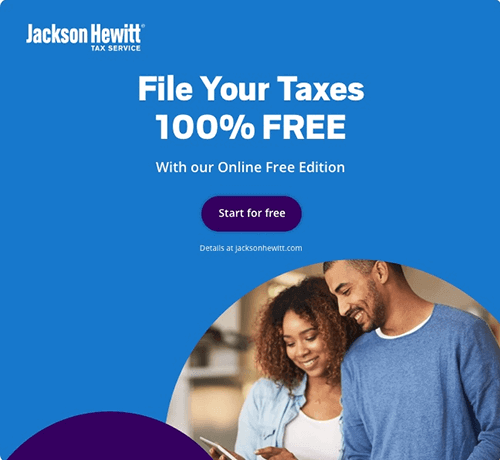 Jackson Hewitt Tax Service Discount Coupon