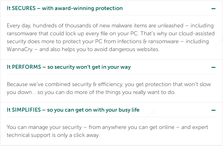 Kaspersky Anti-Virus Feature