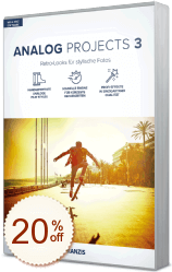 ANALOG projects Discount Coupon