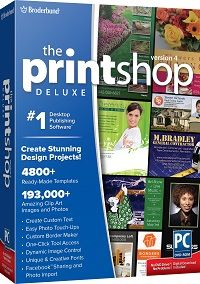 The Print Shop Deluxe Shopping & Trial