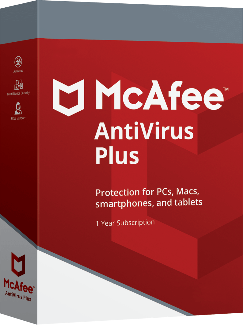 McAfee AntiVirus Plus最新情報
