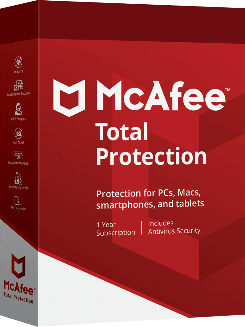 McAfee Total Protection最新情報
