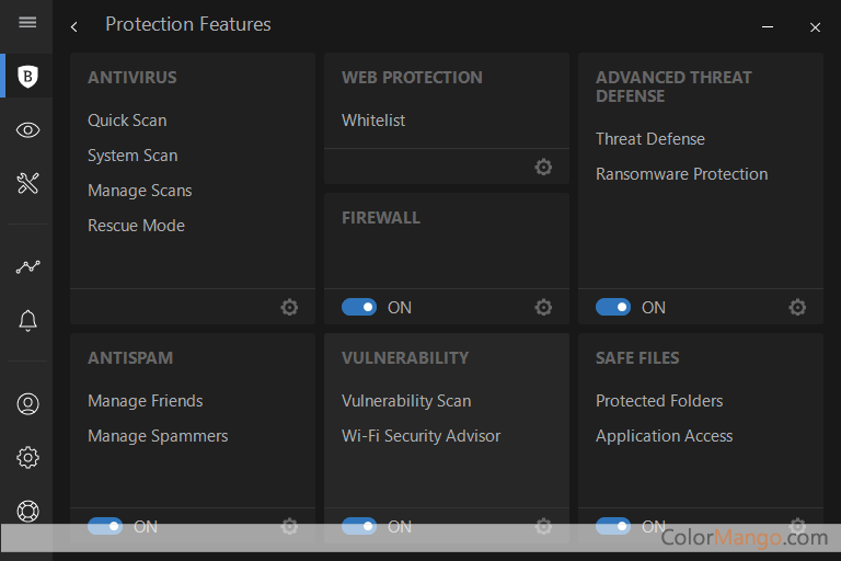 BitDefender Total Security Screenshot