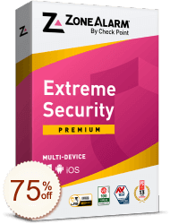 ZoneAlarm Extreme Security Discount Coupon