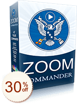 Zoom Commander Discount Coupon