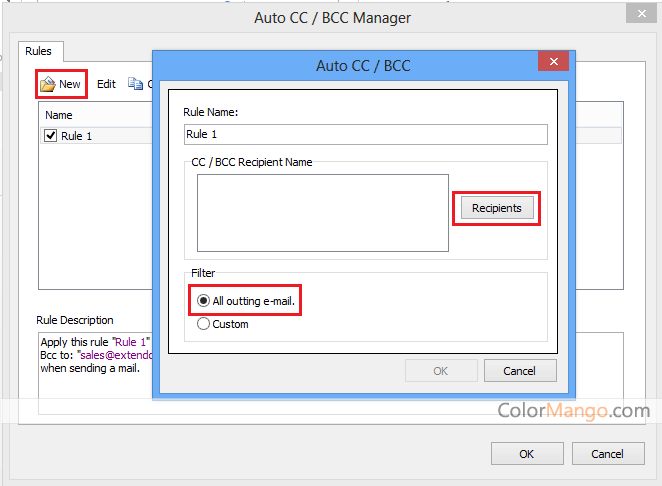 Kutools for Outlook スクリーンショット