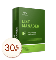 Atomic List Manager Discount Coupon