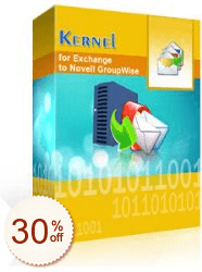Kernel for Exchange to GroupWise Discount Coupon