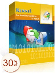 Kernel for GroupWise to MBOX Discount Coupon
