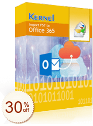 Kernel Import PST to Office 365 割引情報