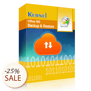 Kernel Office 365 Backup & Restore 割引情報